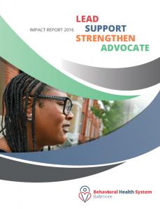 Impact Report 2016: Lead Support Strengthen Advocate Cover